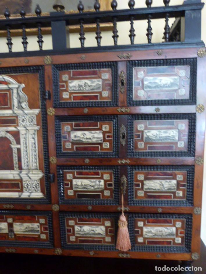 Antigüedades: Bargueño siglo 18, carey, marfil y madera - Foto 12 - 82450368
