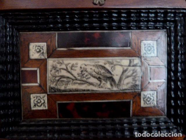 Antigüedades: Bargueño siglo 18, carey, marfil y madera - Foto 14 - 82450368