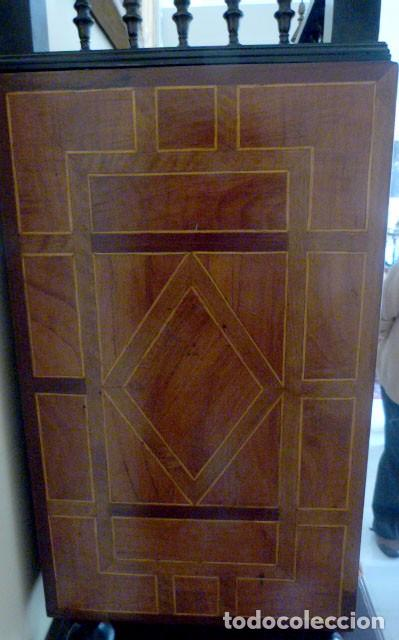 Antigüedades: Bargueño siglo 18, carey, marfil y madera - Foto 15 - 82450368