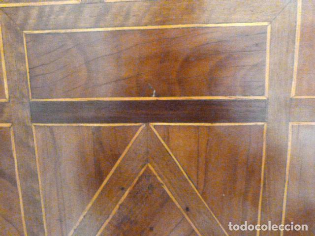 Antigüedades: Bargueño siglo 18, carey, marfil y madera - Foto 16 - 82450368