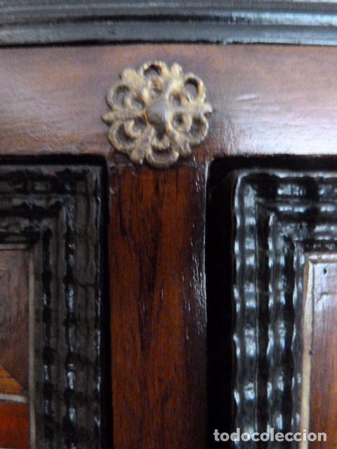 Antigüedades: Bargueño siglo 18, carey, marfil y madera - Foto 21 - 82450368