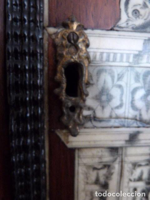 Antigüedades: Bargueño siglo 18, carey, marfil y madera - Foto 22 - 82450368