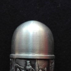 Antigüedades: SALERO DE METAL. Lote 82484520
