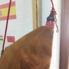 Antigüedades: ANTIGUA BOTA DE VINO DE LA BOTERIA FRESNEDA (VALDEPEÑAS). Lote 82525980