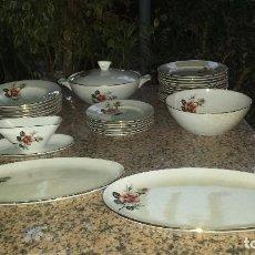 Antigüedades: ANTIGUA VAJILLA DE LA CARTUJA, SELLADA, PRECIOSA. Lote 82526224