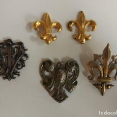 Antigüedades: CONJUNTO BROCHES DE CAPA. Lote 82527676