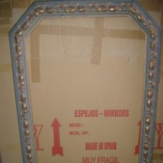 Antigüedades: MARCO MOLDURA GRANDE DE MADERA CLASICO 122 X 80 CMS. Lote 82528480