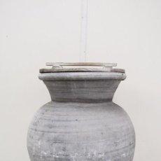 Antigüedades: TINAJA ANTIGUA DE BARRO. Lote 82658472