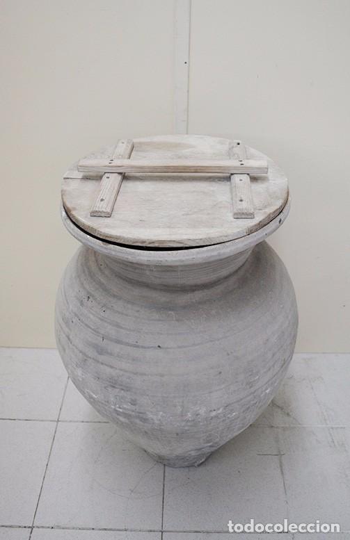 Antigüedades: TINAJA ANTIGUA DE BARRO - Foto 2 - 82658472