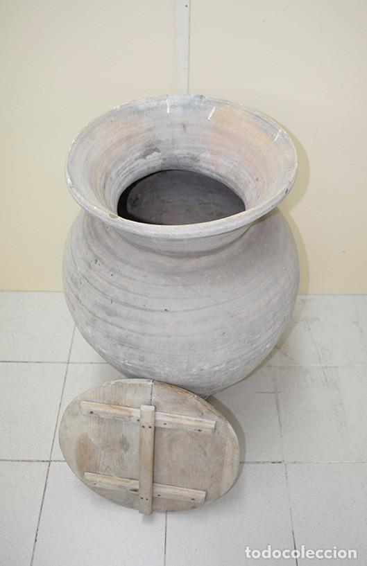 Antigüedades: TINAJA ANTIGUA DE BARRO - Foto 3 - 82658472