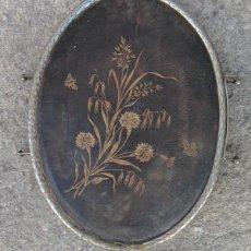 Antigüedades: ANTIGUO ESPEJO DE TOCADOR. TRIPTICO, SIGLO XIX. Lote 82743272