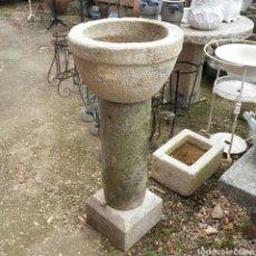 Antigüedades: ANTIGUA FUENTE COMPOSICION PIEDRA DE GRANITO. Lote 82769372