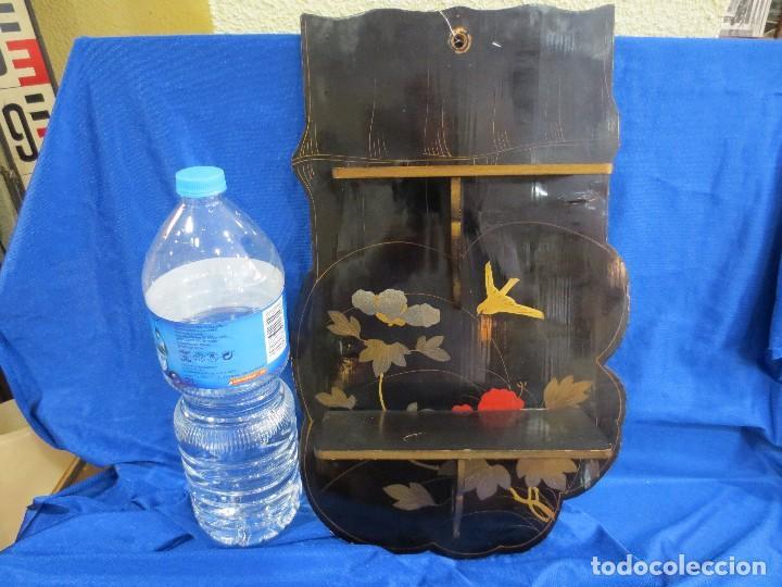 ESTANTERÍA DE PAPEL MACHE (Antigüedades - Hogar y Decoración - Otros)