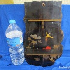 Antigüedades: ESTANTERÍA DE PAPEL MACHE. Lote 82845500