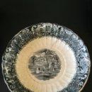 Antigüedades: FUENTE CERAMICA ANTIGUA S.XIX SAN JUAN SEVILLA SELLO INCISO . 24CM DIÁMETRO X 6CM.HONDO .. Lote 82859807