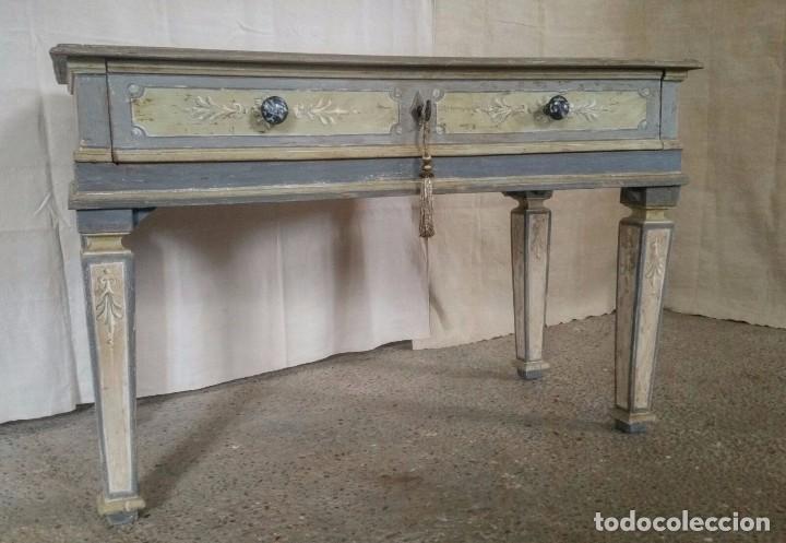 CONSOLA SICILIANA (Antigüedades - Muebles Antiguos - Consolas Antiguas)