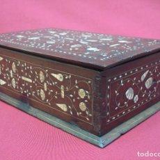 Antigüedades: ARQUETA ARAGONESA DE TARACEA SIGLO XVII. Lote 82965132