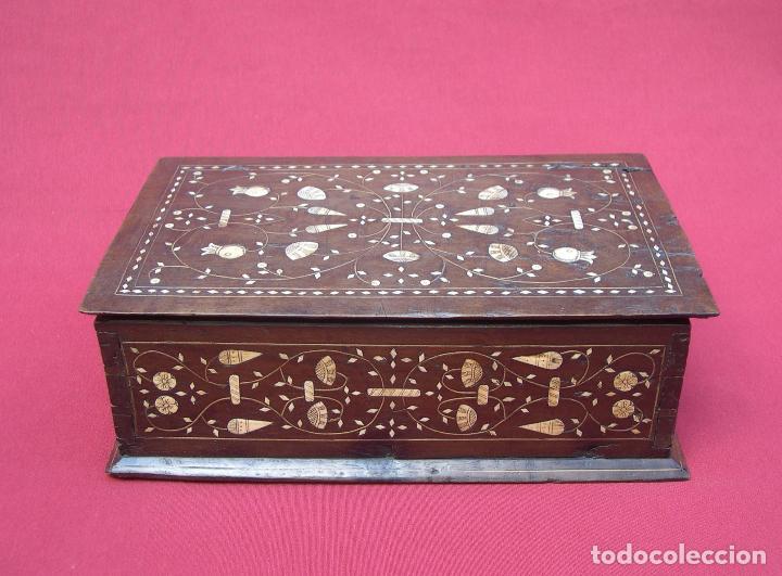 Antigüedades: ARQUETA ARAGONESA DE TARACEA SIGLO XVII - Foto 2 - 82965132