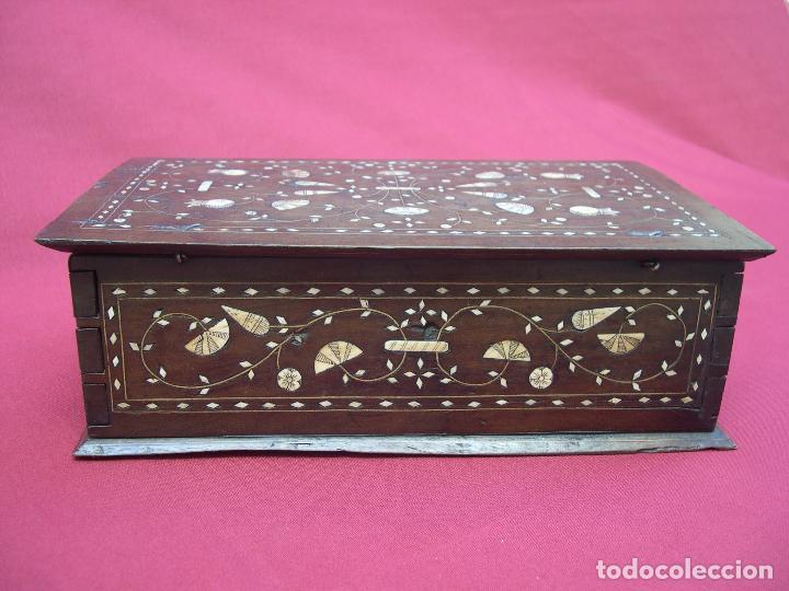 Antigüedades: ARQUETA ARAGONESA DE TARACEA SIGLO XVII - Foto 4 - 82965132