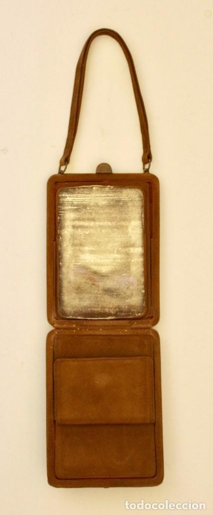 Antigüedades: CARTERA DEL SIGLO XIX, CAREY CON CAMAFEO 15 x 11 cm - Foto 3 - 83025876