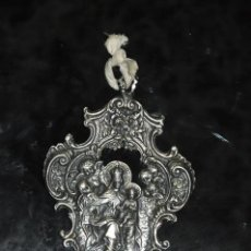 Antigüedades: ANTIGUA BENDITERA FIRMADA PACHETTI , PLAQUÉ SILVER 999. Lote 83040964