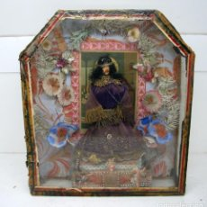 Antigüedades: ANTIGUA RELIQUIA ARTESANAL SIGLO XIX 30 X 36 CM. Lote 83046256