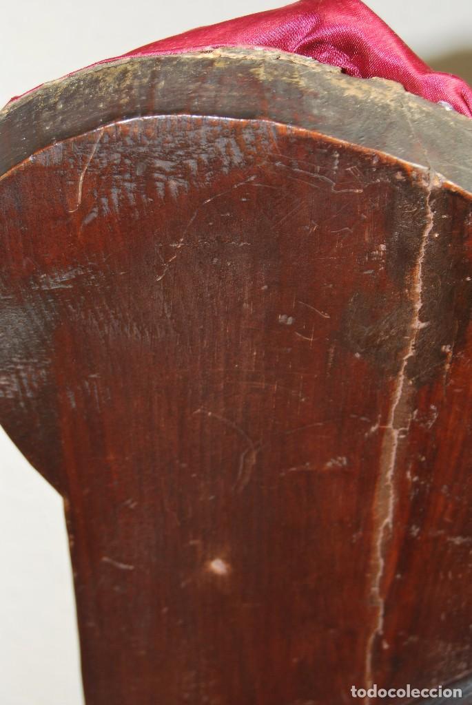 Antigüedades: PRECIOSO ESPEJO VENECIANO - ADORNOS EN CRISTAL, METAL Y TELA -MODERNISMO -ART NOUVEAU -FINALES S.XIX - Foto 21 - 83051772
