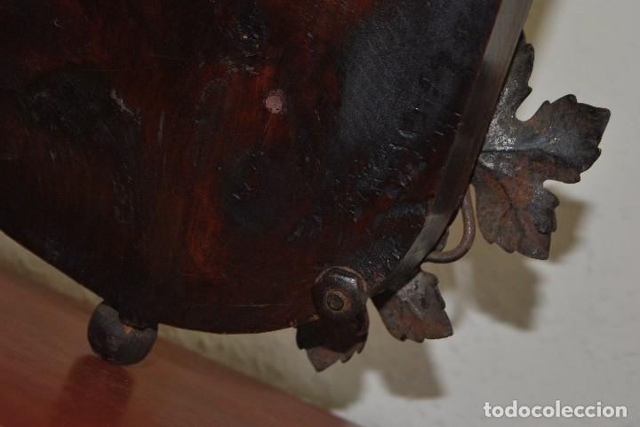 Antigüedades: PRECIOSO ESPEJO VENECIANO - ADORNOS EN CRISTAL, METAL Y TELA -MODERNISMO -ART NOUVEAU -FINALES S.XIX - Foto 23 - 83051772