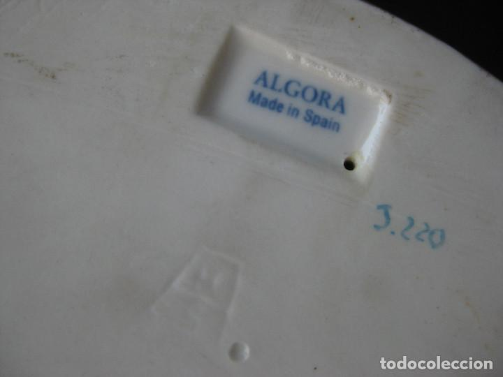 Antigüedades: MUY RARA FIGURA ANTIGUA ORIGINAL ANGELES ALGORA JUGANDO CON PAJARO - Foto 12 - 151836562