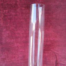 Antiguo tubo para quinqué en cristal