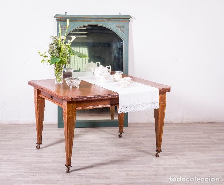 ANTIGUA MESA INGLESA (Antigüedades - Muebles Antiguos - Mesas Antiguas)