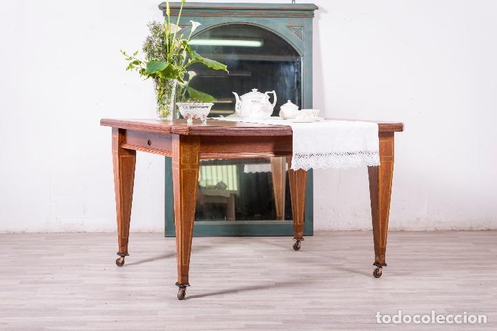Antigüedades: Antigua mesa inglesa - Foto 2 - 83123592