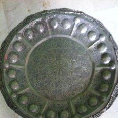 Antigüedades: MESA - BANDEJA DE ORIGEN MARROQUI + DE 150 AÑOS. Lote 83125948