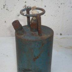 Antigüedades: ANTIGUO HORNILLO O LAMPARA DE HIERRO. Lote 83186492