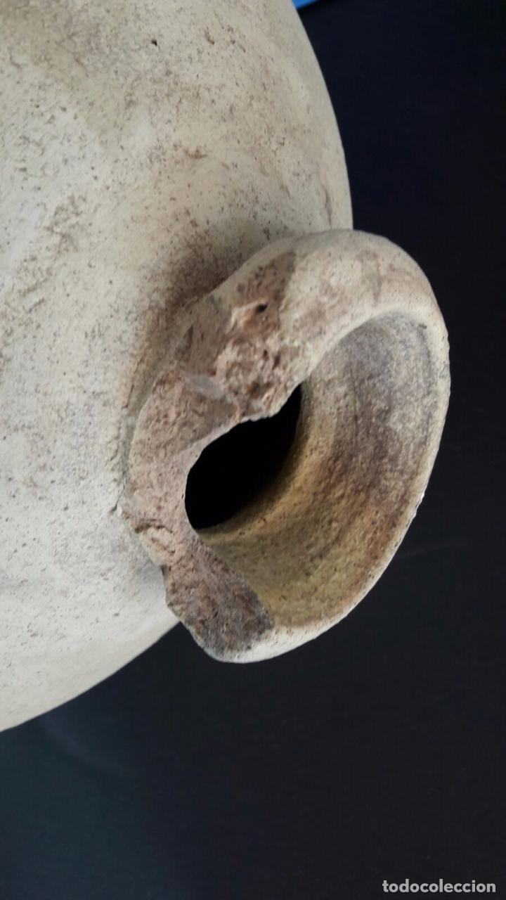 Antigüedades: Botija perulera / cántaro Triana (Sevilla s. XVI) - Foto 3 - 83290056