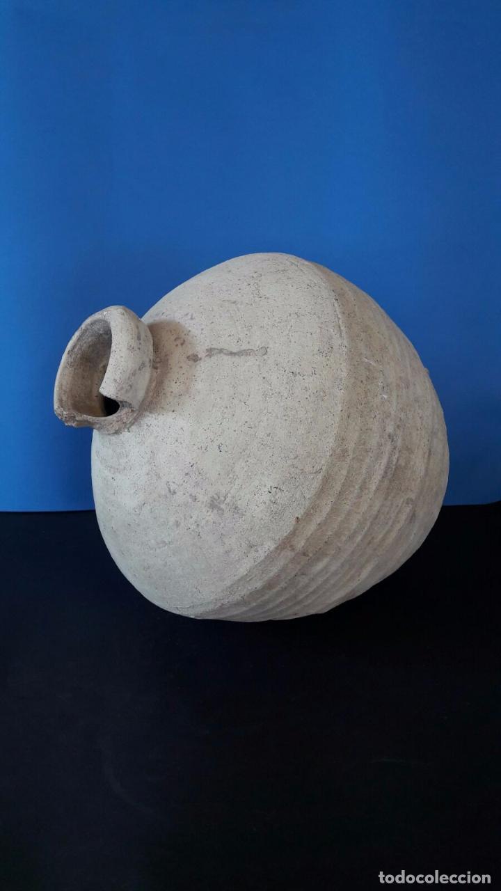 Antigüedades: Botija perulera / cántaro Triana (Sevilla s. XVI) - Foto 5 - 83290056