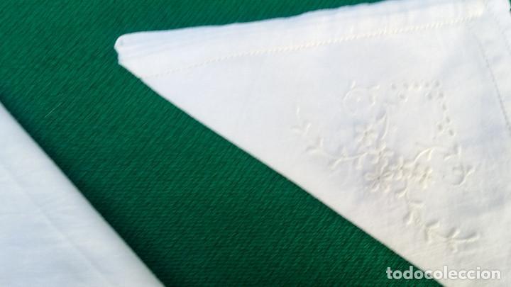Antigüedades: 4 pañuelos bordados - Foto 4 - 83298160