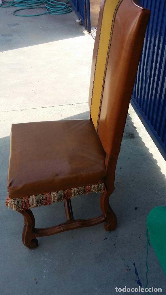 Antigüedades: silla - Foto 3 - 83299452