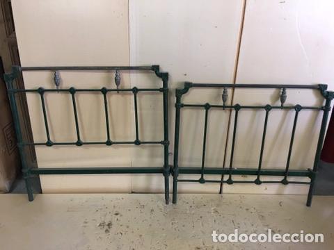 CAMA DE HIERRO (Antigüedades - Muebles Antiguos - Camas Antiguas)
