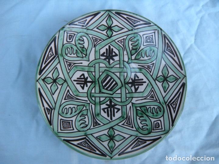 PLATO DE DOMINGO PUNTER, TERUEL (Antigüedades - Porcelanas y Cerámicas - Teruel)