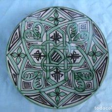 Antigüedades: PLATO DE DOMINGO PUNTER, TERUEL. Lote 83337340