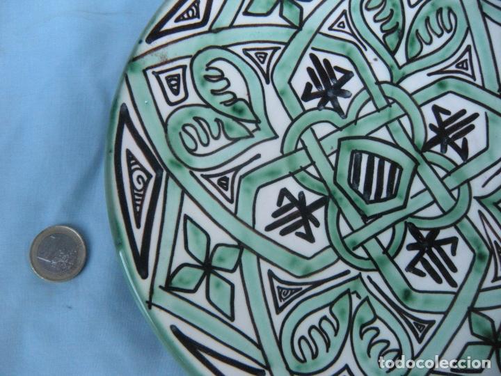 Antigüedades: PLATO DE DOMINGO PUNTER, TERUEL - Foto 2 - 83337340