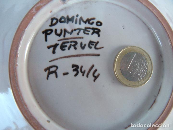 Antigüedades: PLATO DE DOMINGO PUNTER, TERUEL - Foto 3 - 83337340