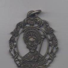 Antigüedades: ANTIGUA BENDITERA DE METAL. Lote 83371940