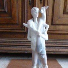 Antigüedades: FIGURA DE LLADRÓ. PASTOR CON CABRA. 27 CM ALT. EXCELENTE ESTADO.. Lote 83379792