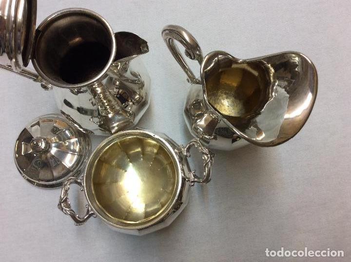 Antigüedades: JUEGO DE CAFE. PLATA DE LEY. - Foto 3 - 83416900