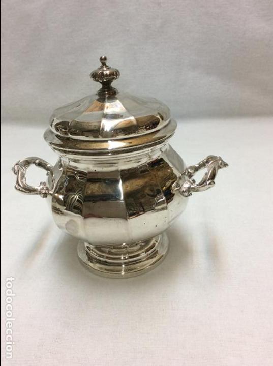 Antigüedades: JUEGO DE CAFE. PLATA DE LEY. - Foto 5 - 83416900