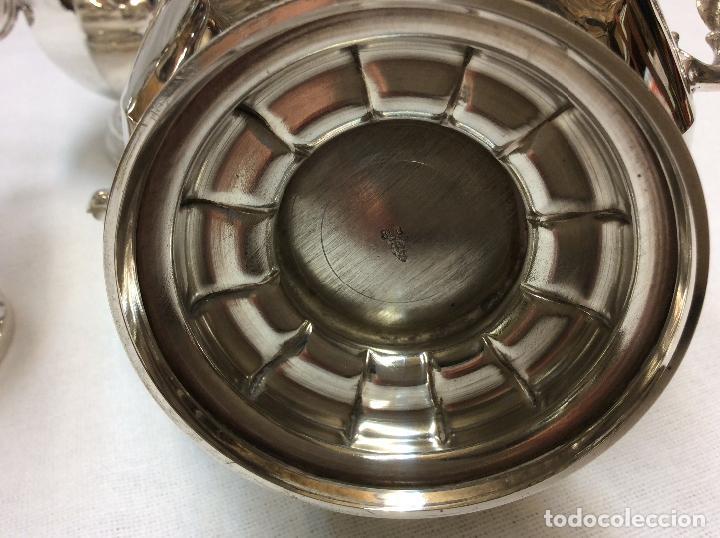 Antigüedades: JUEGO DE CAFE. PLATA DE LEY. - Foto 8 - 83416900