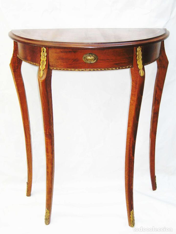 mesita mesa estilo ingles vintage auxiliar mens - Comprar Mesas ...