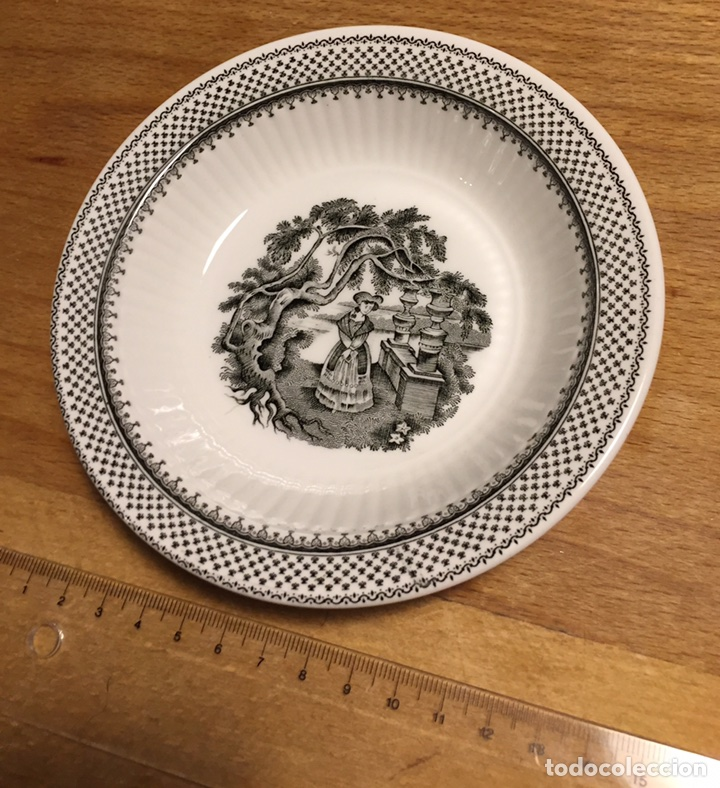 Antigüedades: Plato porcelana WEDGWOOD Inglesa Adams Menue - Foto 4 - 83468912